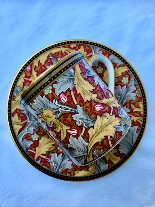 William Morris(ウィリアム・モリス)ロンドンV&A美術館収蔵 カップ&ソーサー GRANVILLE