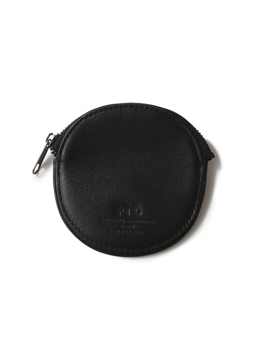 FTC(エフティーシー) / LUXE LEATHER COIN PURSE -BLACK-