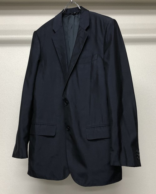 2000s HELMUT LANG SILK TAILORED JACKET