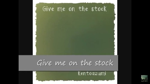 【XFD】3rd.Full Album「Give me on the stock」(Official PV)