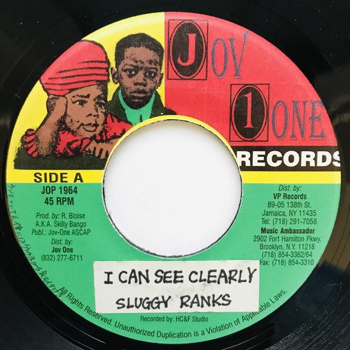 Sluggy Ranks - I Can See Clearly【7-11035】