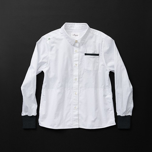 レディス pockets 白×黒+P