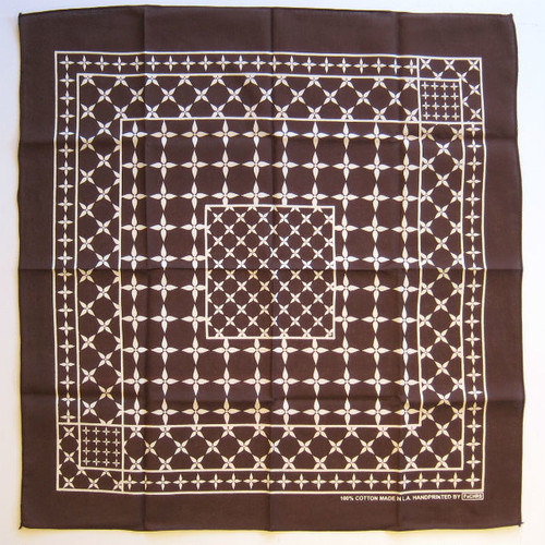 "FxCHRS Original Bandana ""Linewerx"", brown"