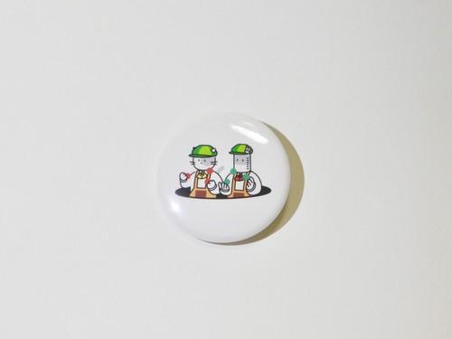 【KANNORA新バッチ】缶バッチ38cm