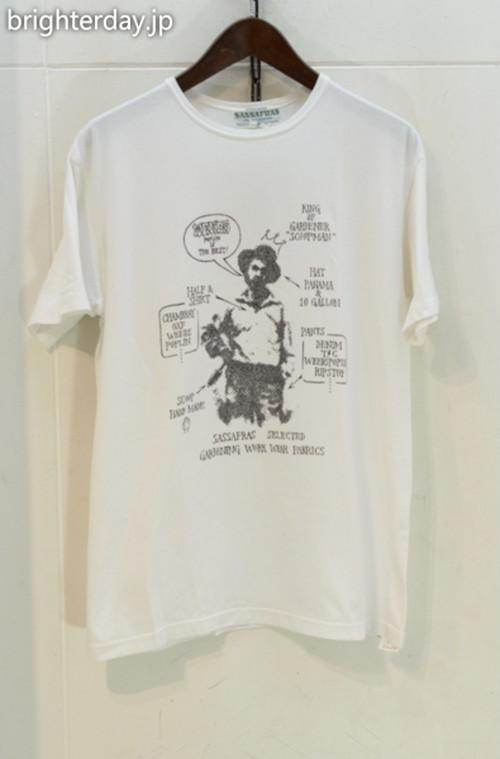 SASSAFRAS Tシャツ