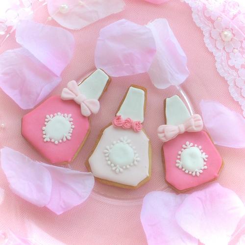 『香水』豆乳ヘルシーアイシングクッキー