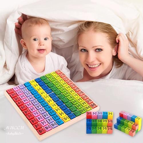 送料無料!《先行予約販売特別価格10/30まで》木製知育玩具 モンテッソーリ 掛け算 幼児教育 出産祝いにも 赤ちゃん