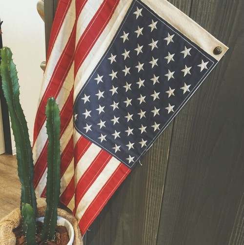 【IN MY LIFE】VINTAGE FLAG(USA)