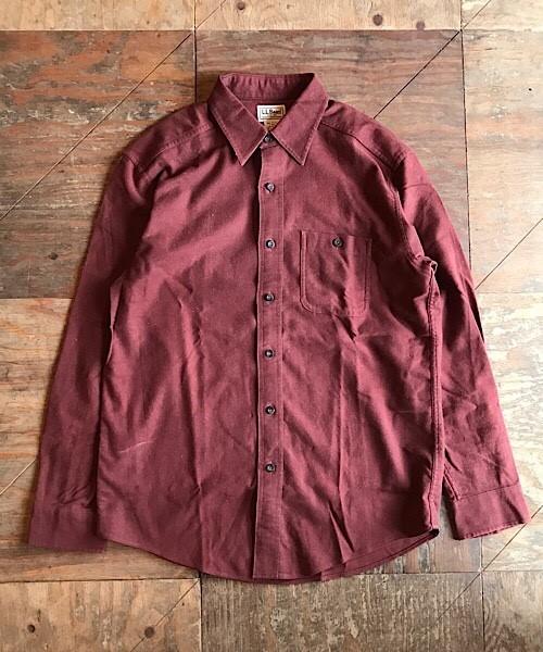 L.L.Bean Chamois cross Shirts / ワークシャツ (UT-608)