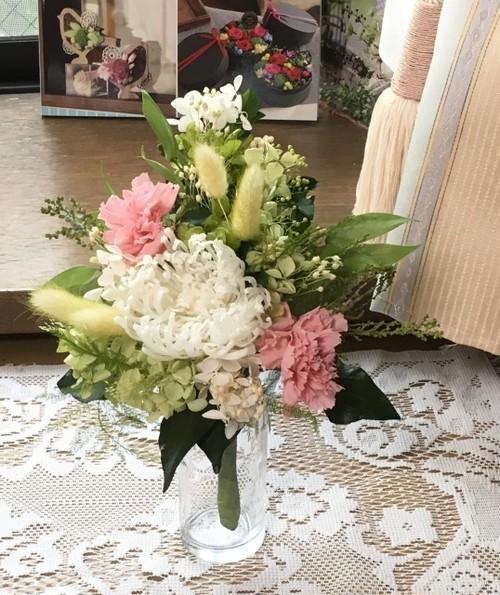プリザーブドフラワー仏花 アナスタシア(花器は付属していません)