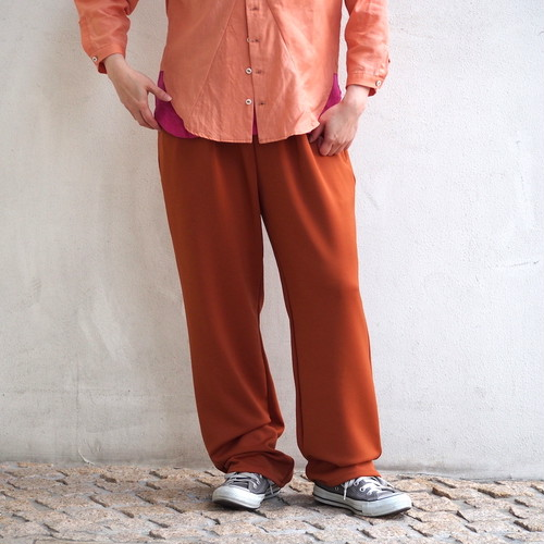 【ethical hippi】tapered pants(brown) / 【エシカル ヒッピ】テーパード パンツ(ブラウン)