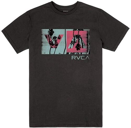 RVCA ルーカ BALANCE BOX グラフィックプリントTシャツ 8467993 [並行輸入]