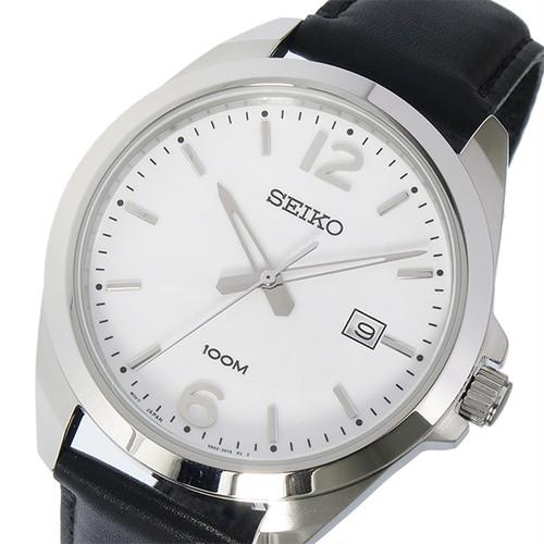 セイコー SEIKO クオーツ メンズ 腕時計 SUR213P1 ホワイト ホワイト