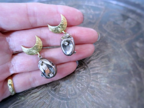 ドロップピアス vintage drop earrings <PE11-0420>