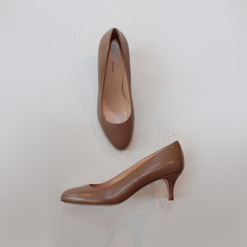 FABIO RUSCONI / MEG plain toe pumps