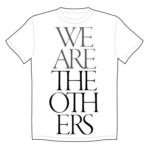 """""""WE ARE THE OTHERS TOUR"""" T-SHIRTS white"""