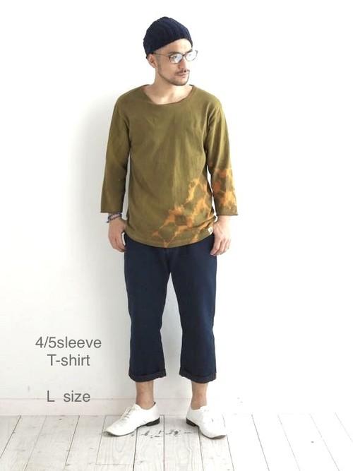 "4/5sleeve T-shirt      ""L-size"""