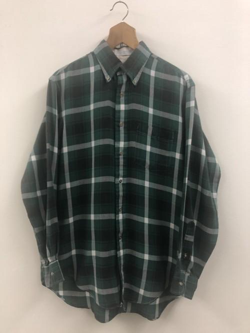 L.L.Bean Light Flannel Plaid Shirt