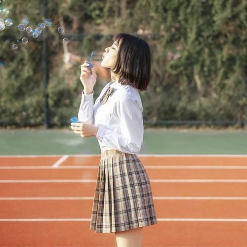 9840コスチューム jk制服 女子高生服 制服 セット 夏 春秋 長袖 半袖 ワイシャツ+スカート レディース 可愛い セーラー服 ショートプリーツスカート 白シャツ 大きいサイズ
