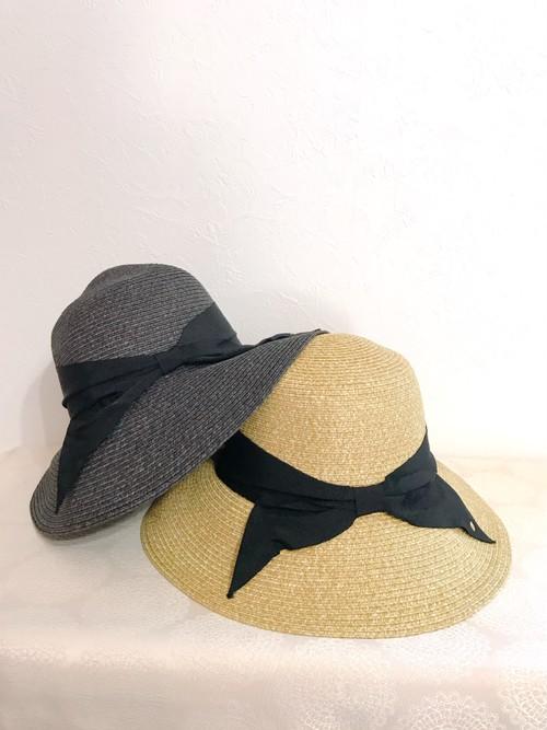 大人っぽいリボンの調整可能帽子
