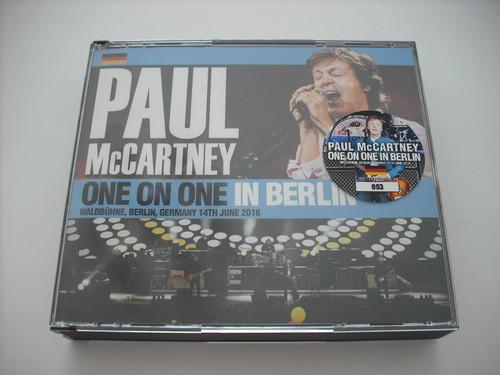 【3CD】PAUL McCARTNEY / ONE ON ONE IN BERLIN