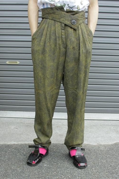 Waist Mark Design Easy Pants