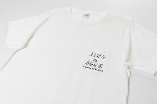 SING A SONG ポケTEE(ホワイト)