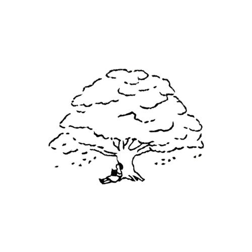 木の下で Under a Tree