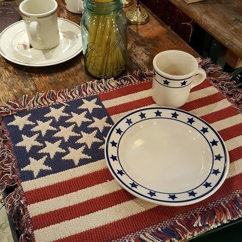 USA 星条旗柄ランチョンマット