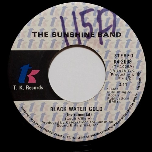 Sunshine Band - Black Water Gold