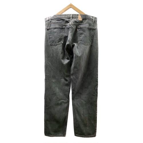 """90's """"LEVI'S / 505"""" BLACK DENIM PANTS"""