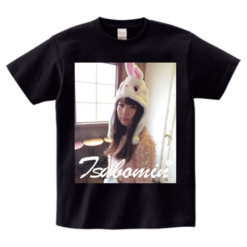 TSUBOMIN / FEBRUARY PHOTO T-SHIRT BLACK