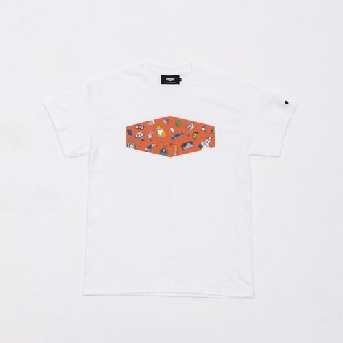 CRATE×Toyameg BoxLogoTee Orange