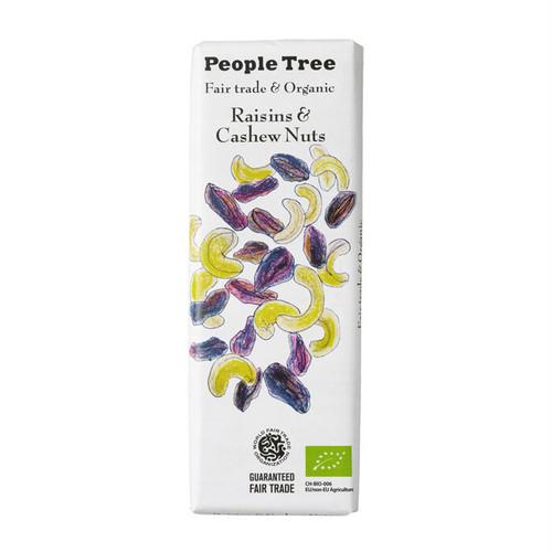 People Tree フェアトレードチョコ オーガニック レーズン&カシューナッツ ピープルツリー
