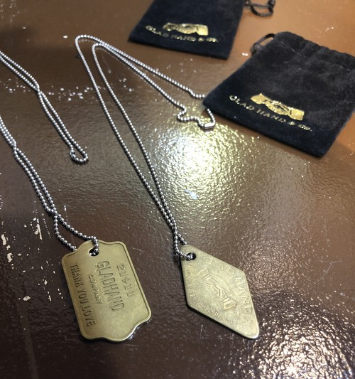 【GLAD HAND】GH TAG - NECKLACE