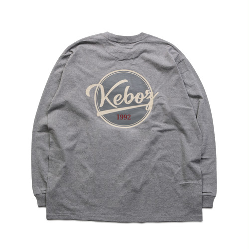 BB LOGO HEAVY WEIGHT L/S TEE【ASH】