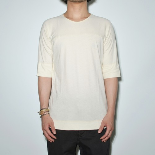 """Leather Inner"" Motion cut -T 〈Ivory〉"