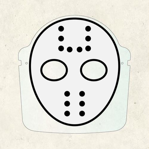 FS0008 フェイスマスク(+透明シールド&専用メガネフレーム)