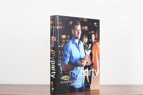 My party : Canapes and Cocktails / visual book