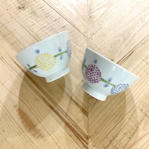 手まり花  ご飯茶碗