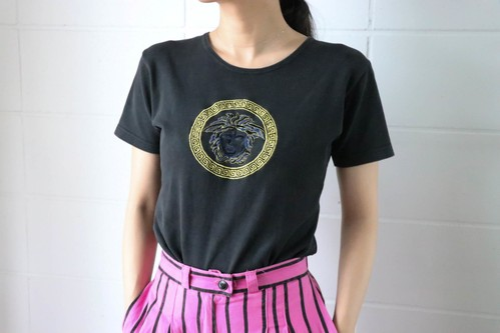 VERSACE black t-shirt