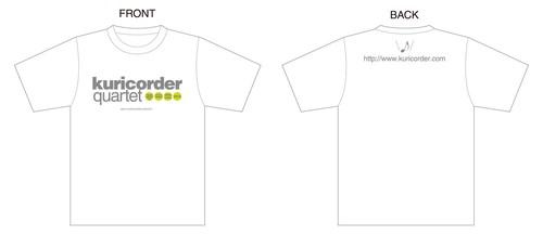 Tシャツ no.4 ポップ(白)