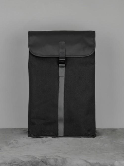 Satchel Backpack Dry Black