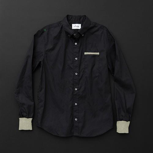 メンズ standard 黒×羊+P