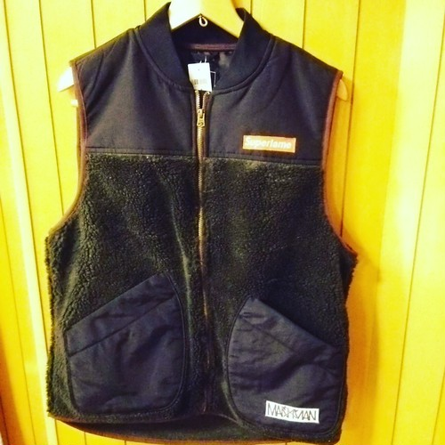 M.A.N.VS.M.A.N  - Fleece vest size:M