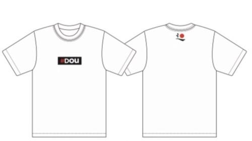 《子供/ Kids 》Dou Tシャツ(白)