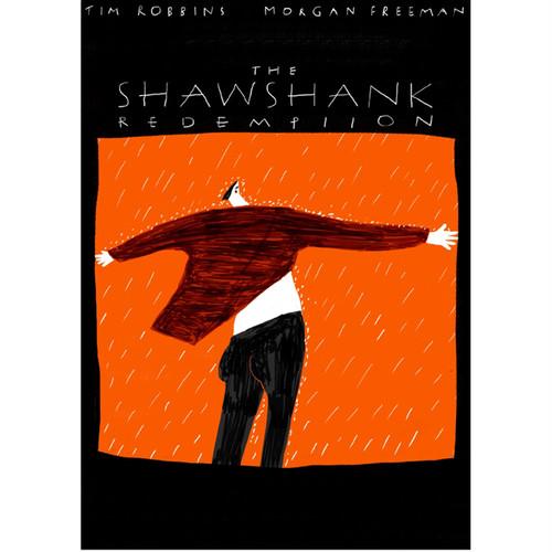 Aki Ishibashi / parody movie poster (shawshank)