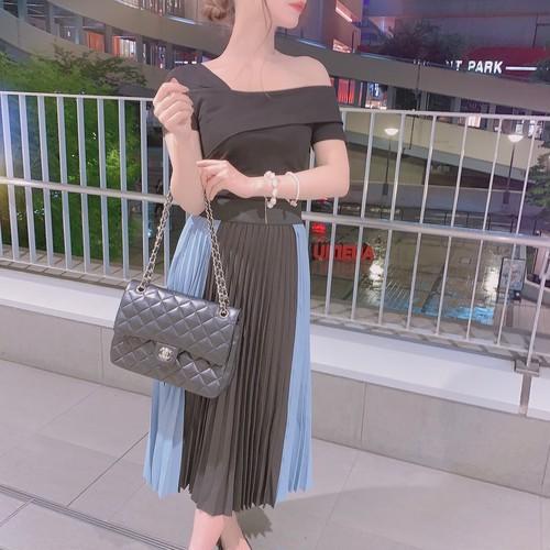 Color scheme skirt 2 color