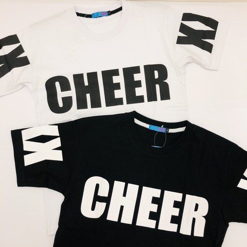 CHEER EXTREME チアエクストリーム アームプリントBIGTシャツ CX833313