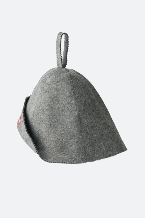 Saunner Box Logo Sauna Hat - Gray
